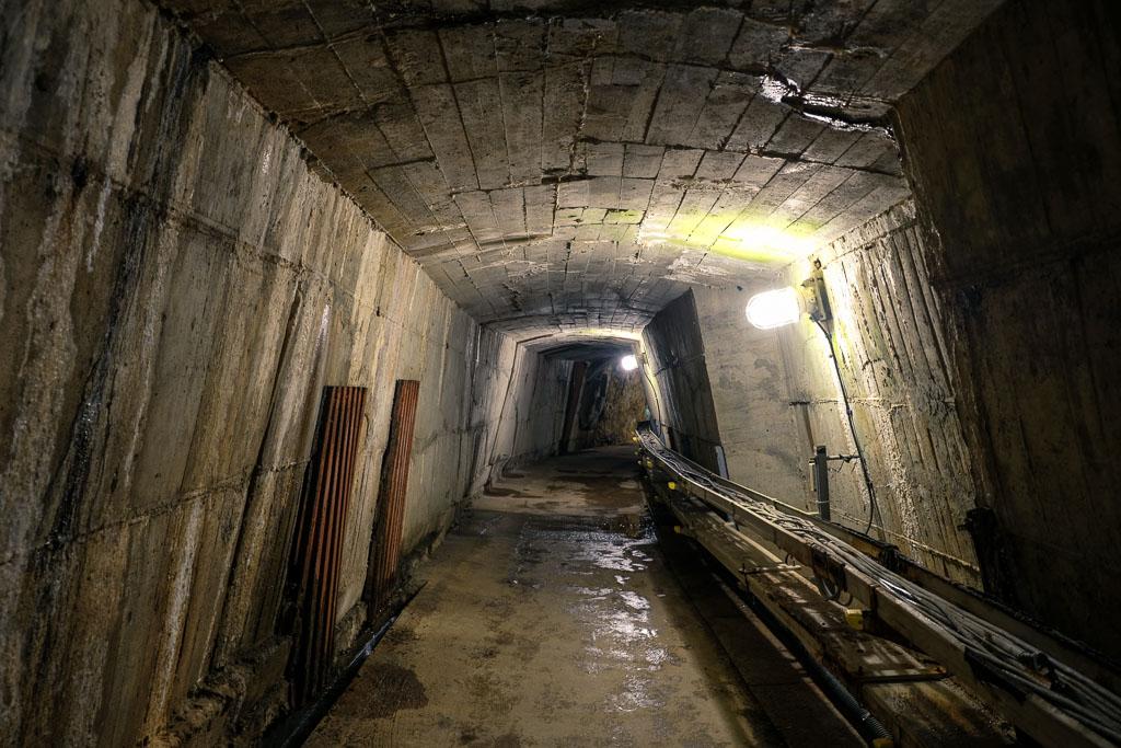 tunnel in Ikuno silver mine