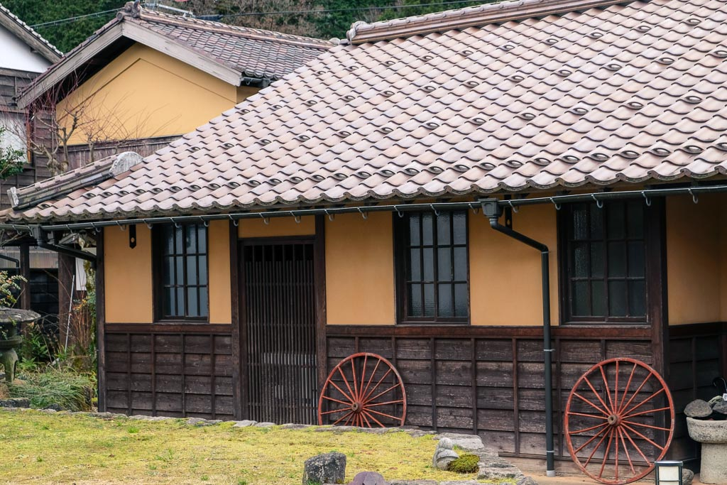 Traditional inn at Kuchiganaya Mining Town