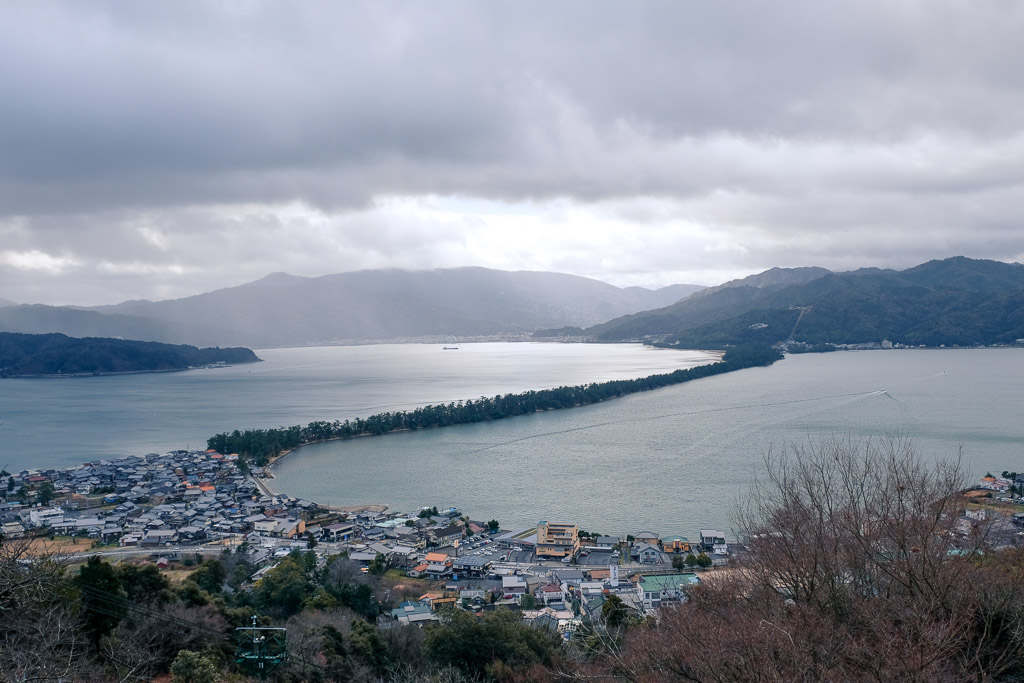 Amanohashidate, one of the top three scenic sights in Japan