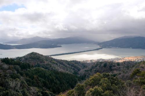 view of amanohashidate