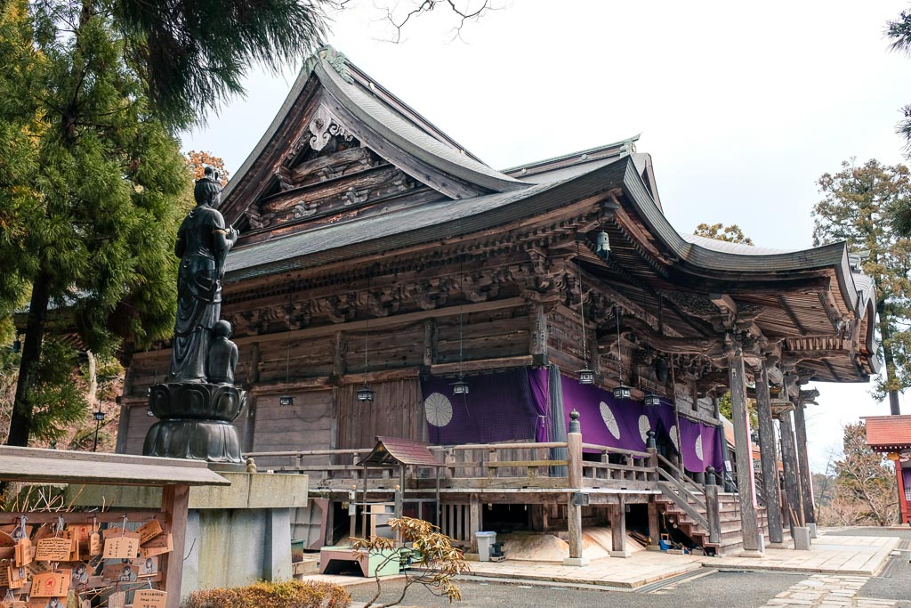 Traditional Japanese Temple in Kyoto, Japan