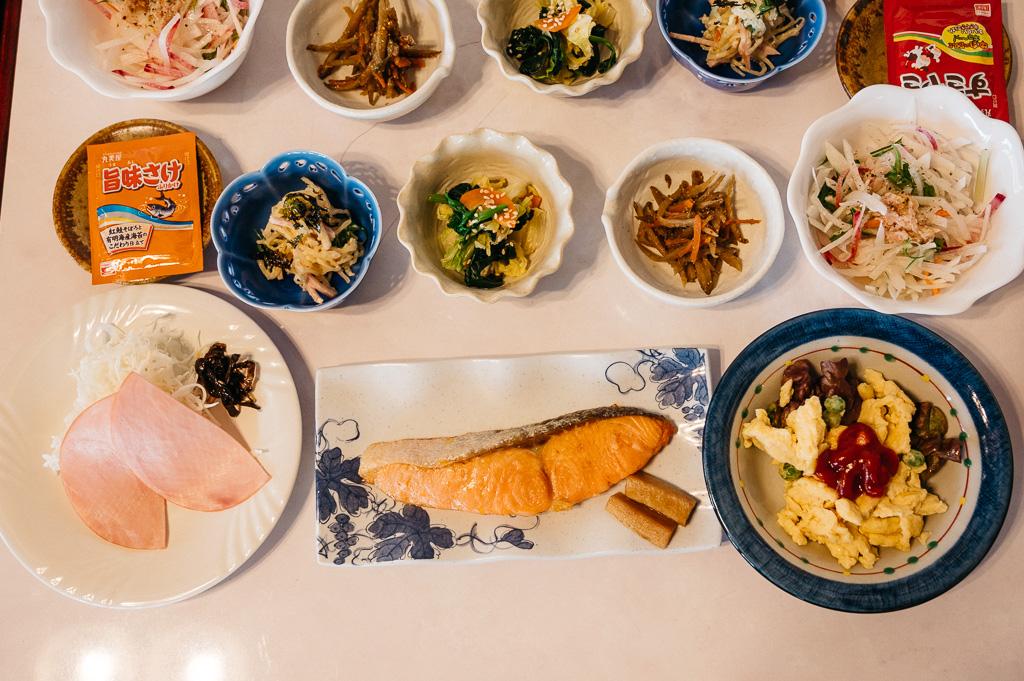 Breakfast at Flora Togari in Iiyama