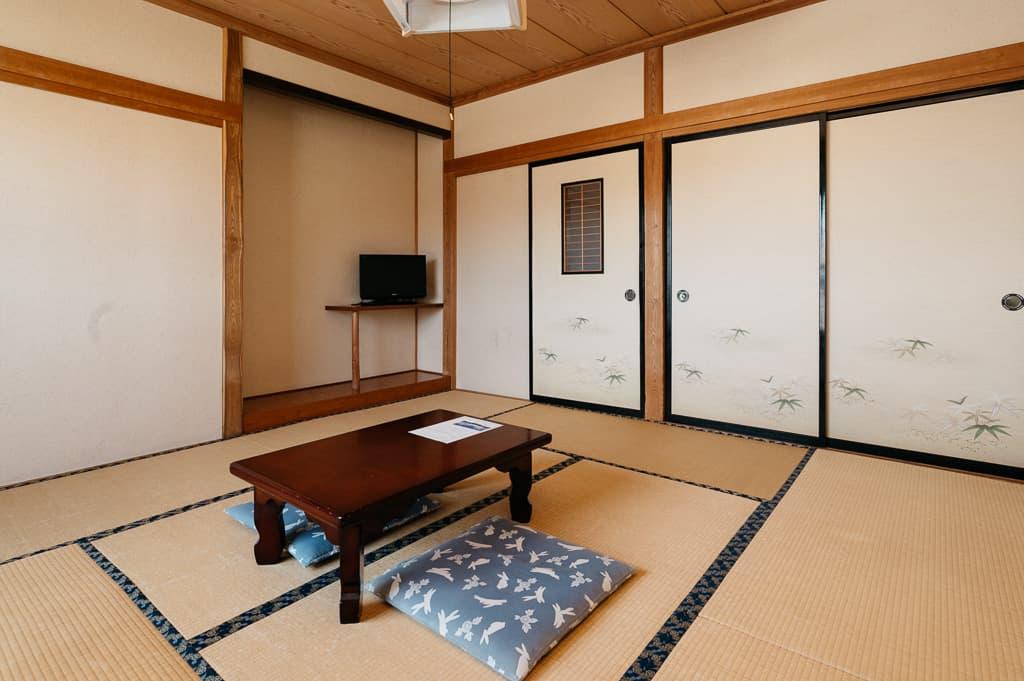 Tatami room at Flora Togari