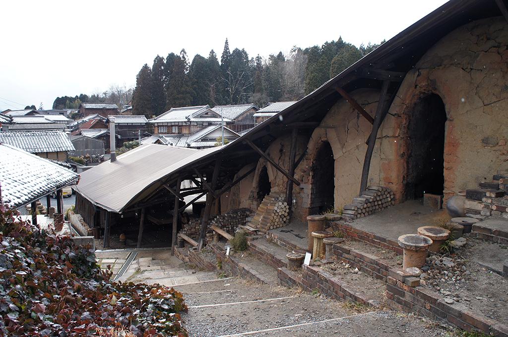 Steps in Shigaraki