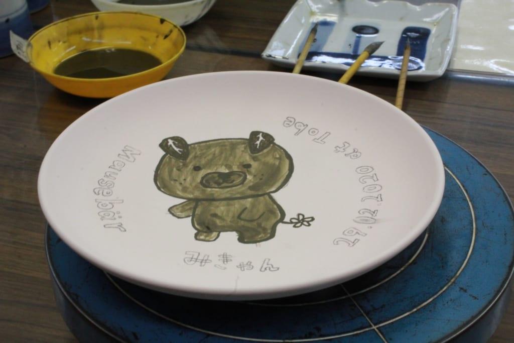 Our own Tobe ceramic.