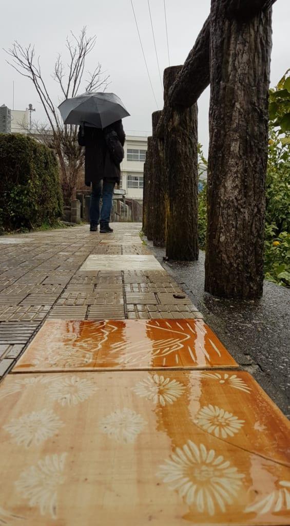 The Tobe ceramic way, Ehime, Shikoku, Japan.