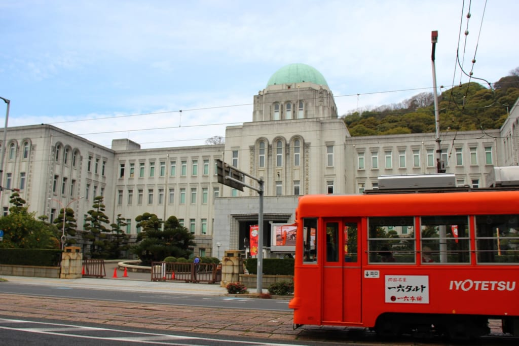 Ehime Prefectural Government Office in Matsuyama city, Ehime, Shikoku.