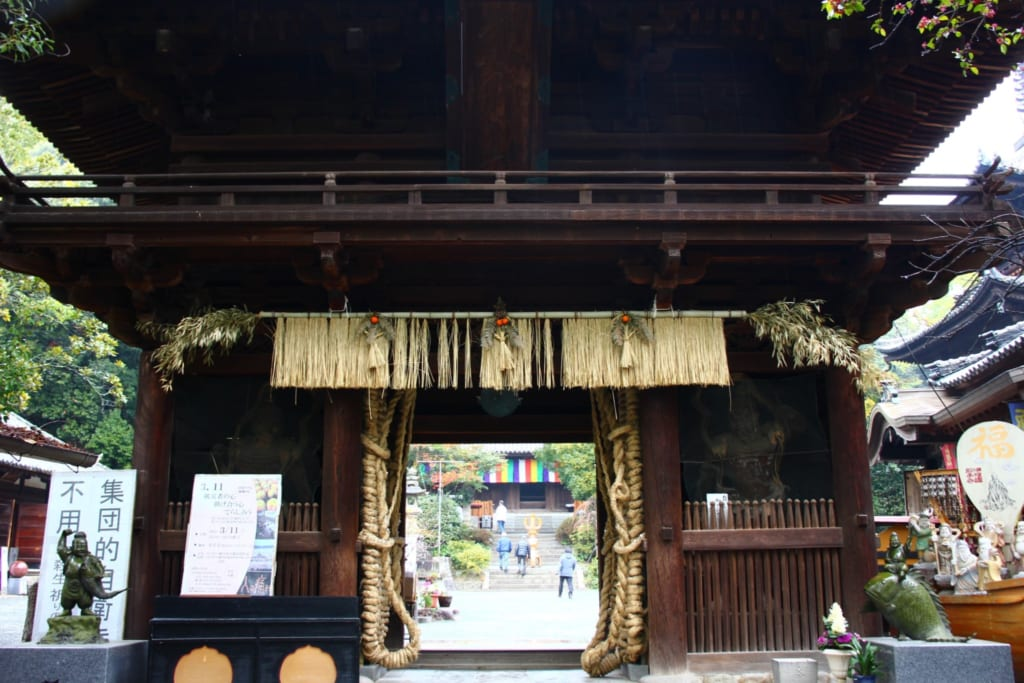 Ishiteji temple, a stop on the Shikoku Pilgrimage Route.