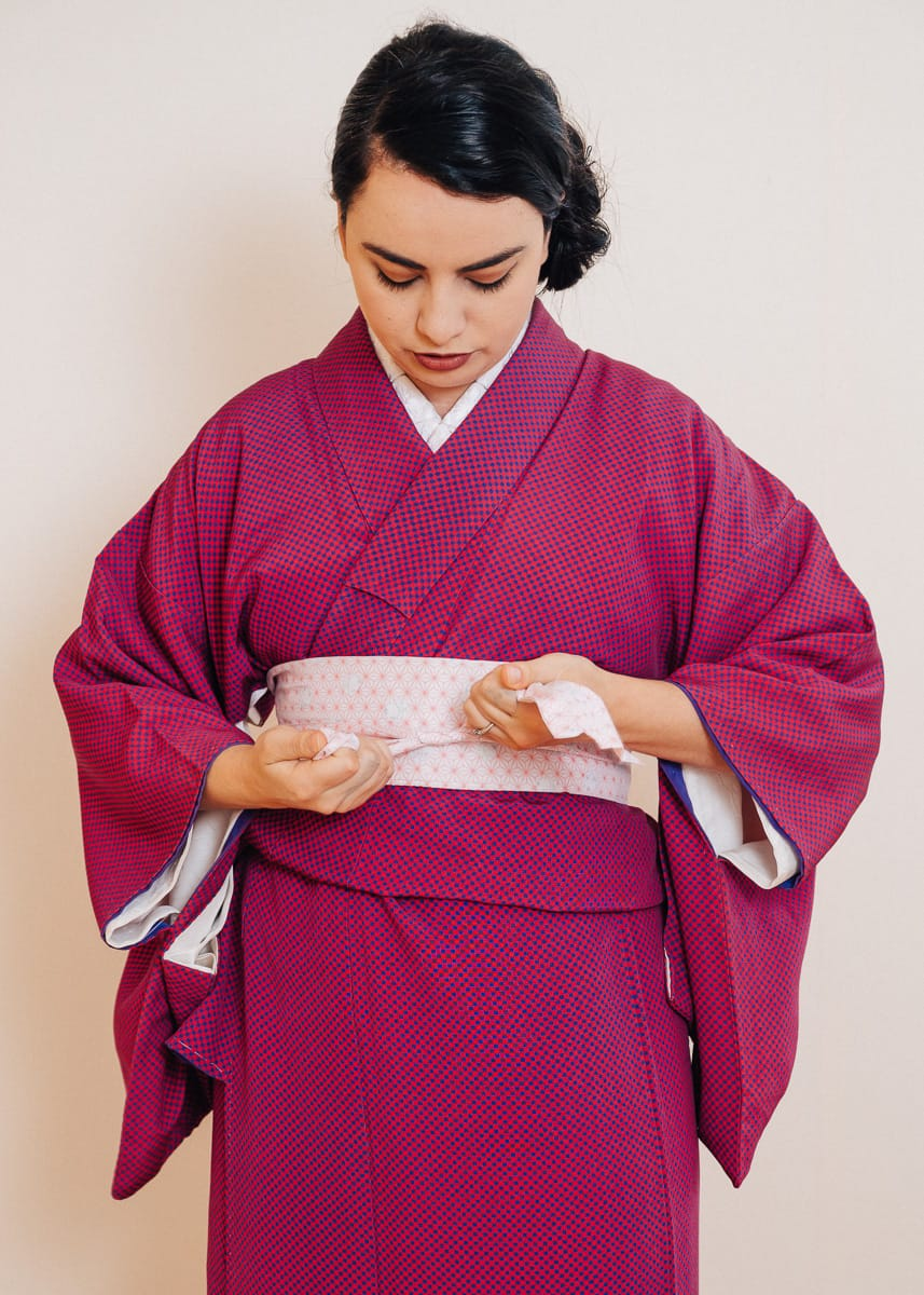 How To Wear A Kimono With Step By Step Pictures And Video
