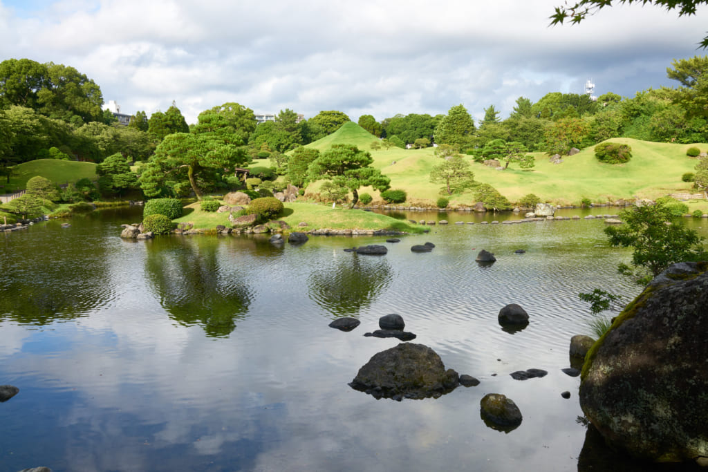 Suizenji Park - Kumamoto, Japan