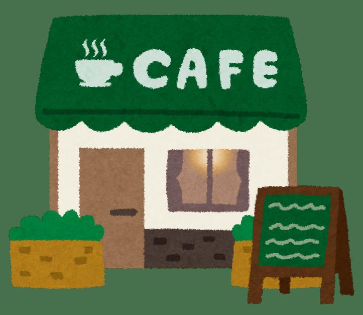 illustration of a cafe