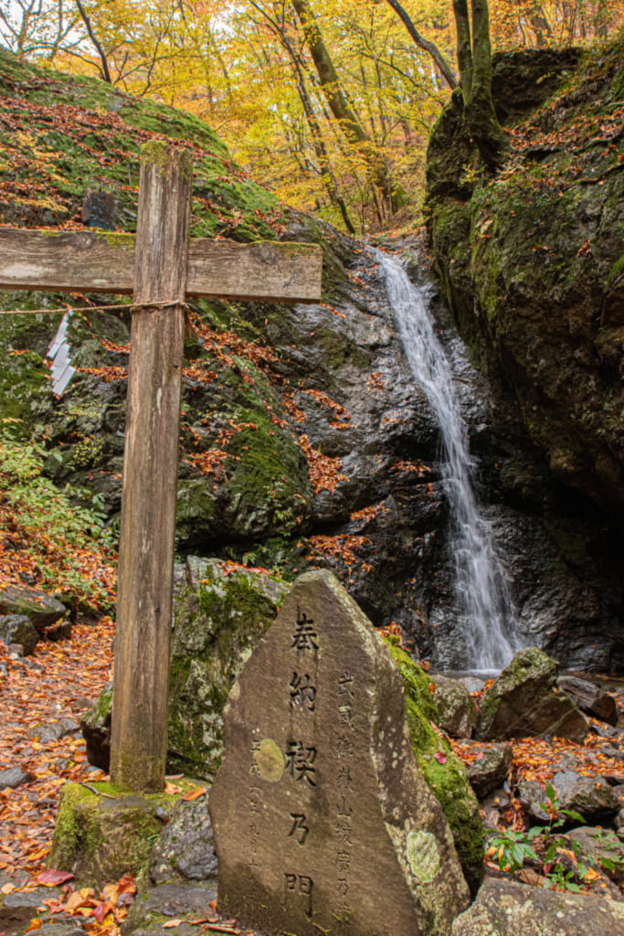 waterfall of mitake