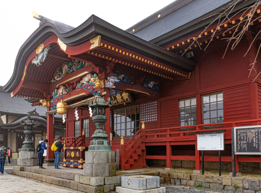 main building of mitake shrine