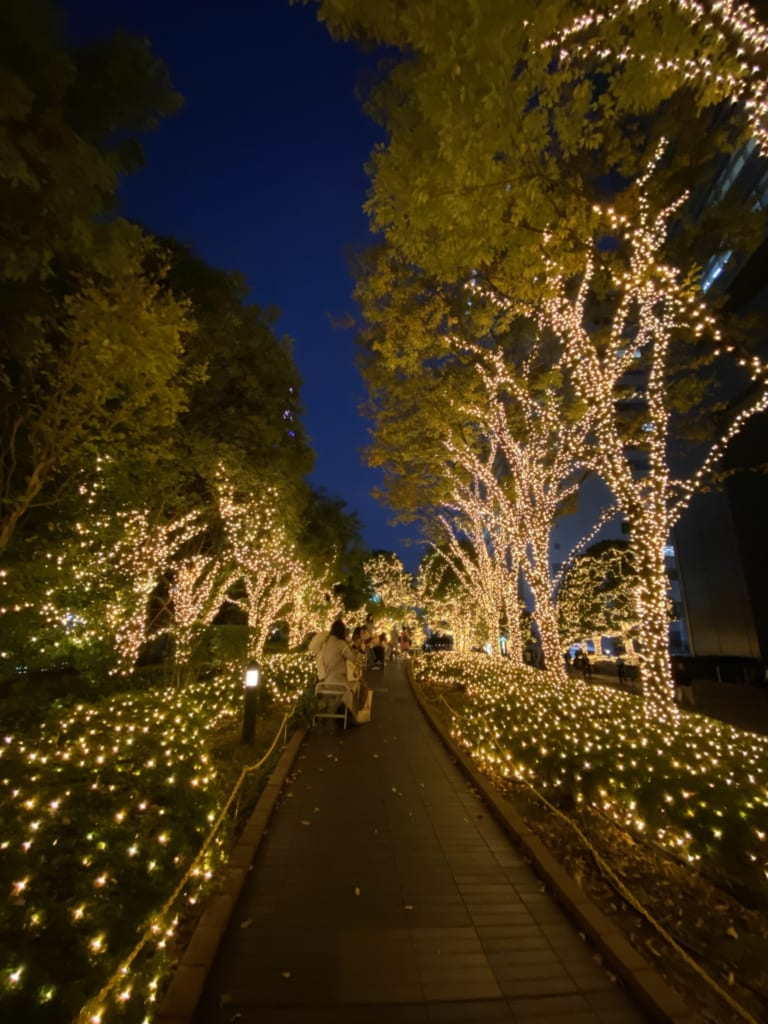 Illuminations in Shinjuku, Tokyo