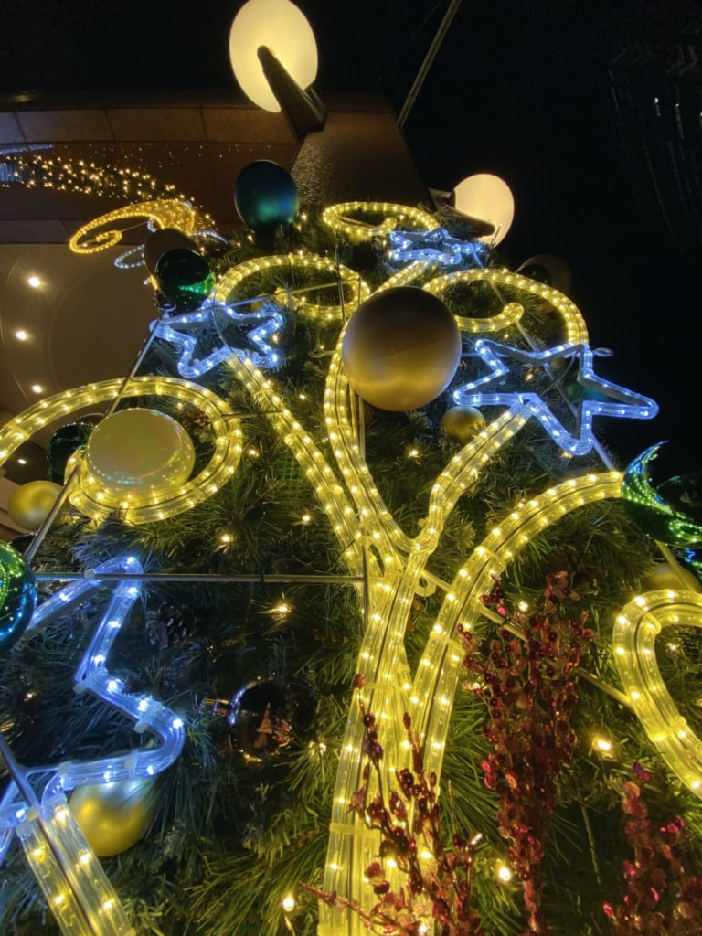 Details of the Christmas illuminations