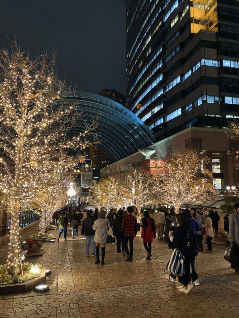 Yebisu Winter Illuminations in Tokyo