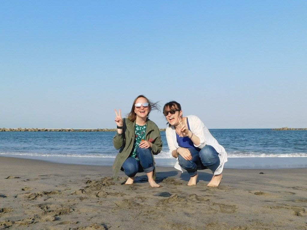Ajigaura beach in Ibaraki prefecture.