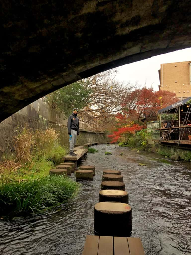 Delightful stone pathways amidst the Genbegawa along the Hakone Hachiri
