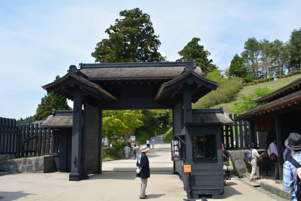 The rebuilt Hakone Checkpoint, an important gateway to the Tokaido