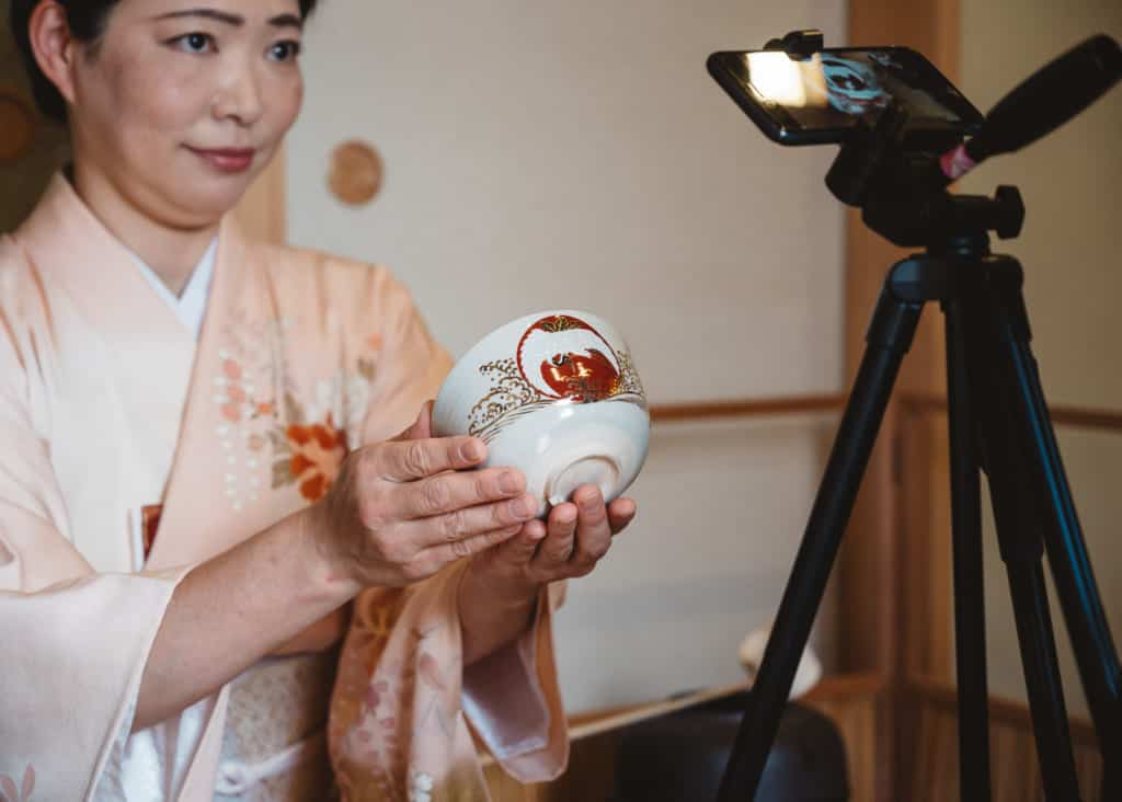 haiken for online tea ceremony
