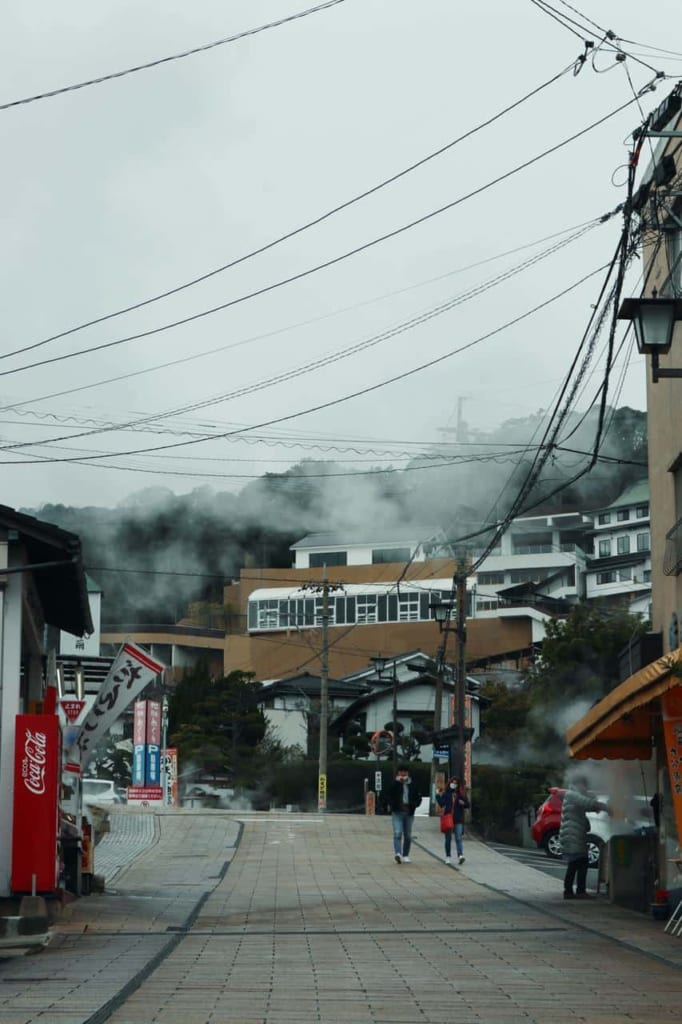 Steam Streets of Beppu, Oita, Japan