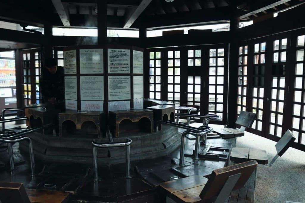 Old Jigokumushi Kobo Kannawa in Beppu