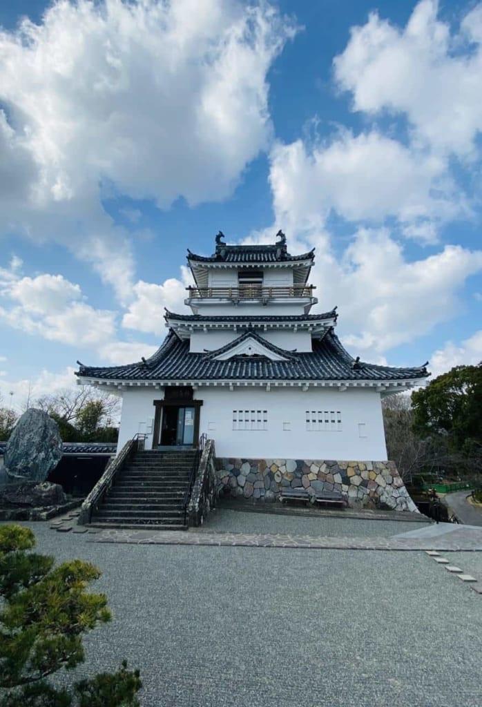 Kitsuki castle in Kitsuki, Oita, Japan