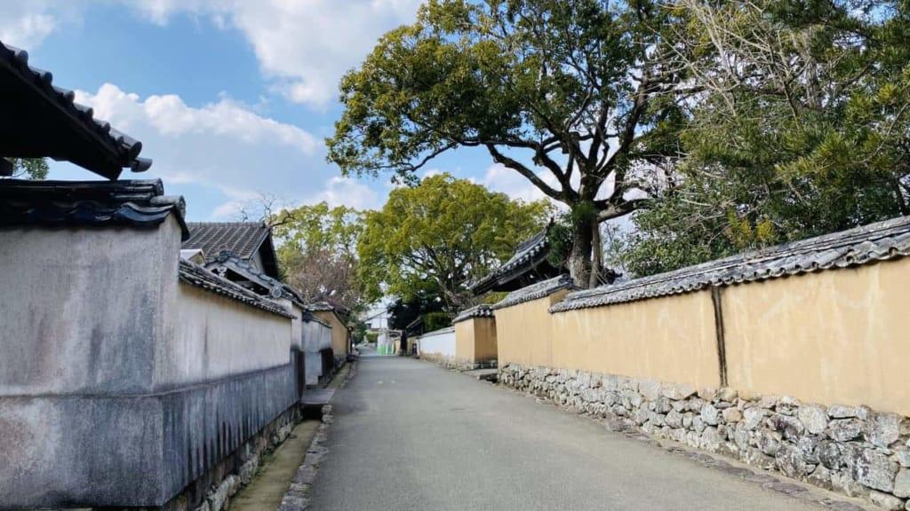Samurai town in Kitsuki, Oita, Japan