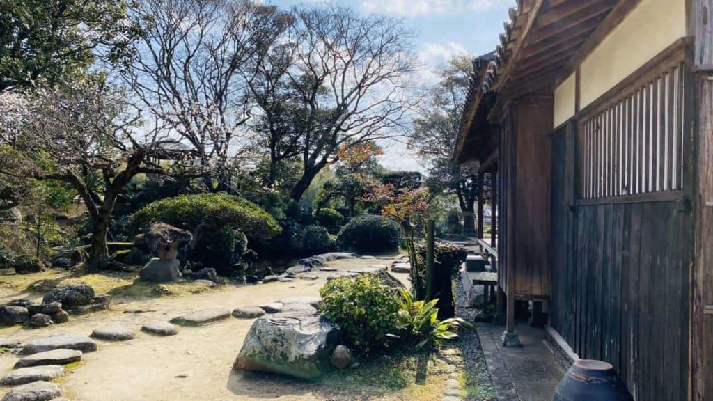 Nomi residence at the Samurai town in Kitsuki, Oita, Japan