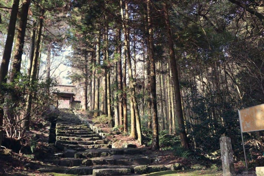 Japanese temple Futagoji, Oita, Japan