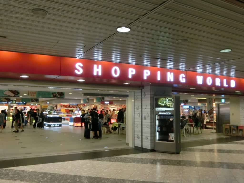 New Chitose Airport shopping world