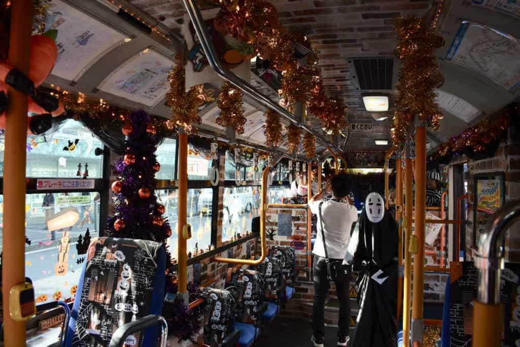 Kawasaki Halloween bus