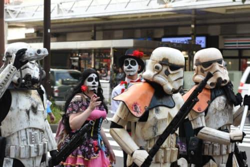 Kawasaki halloween parade 2019 storm trooper