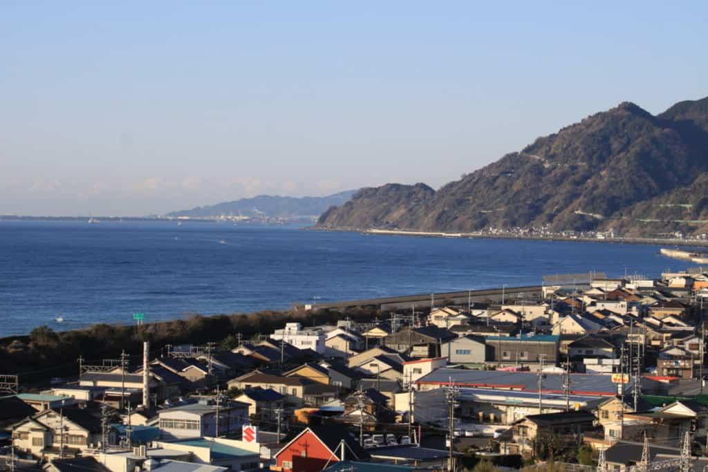 The town on Yui, Shimizu in Shizuoka, home to Shoetsu Sake, Suruga Bay Shrimp & Utagawa Hiroshige