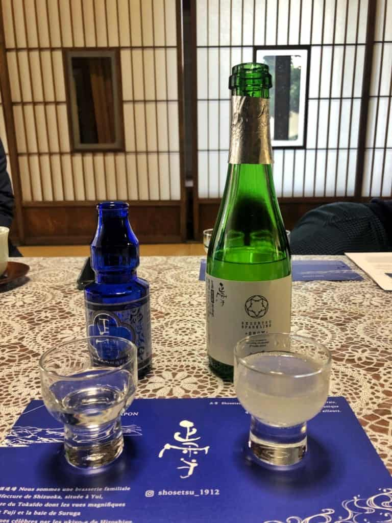 Shoetsu Sake in Yui, Shimizui along the Tokaido Road