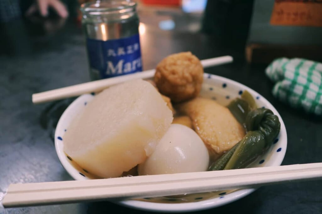 this was our oden order, with many ingredients
