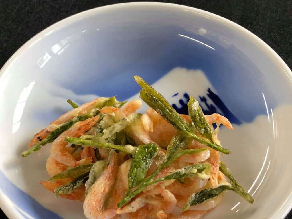 Tasty Suruga Bay Sakura Ebi on the Tokaido Road