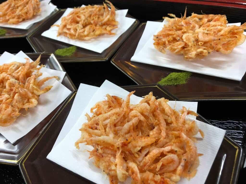 Delicious Suruga Bay Sakura Shrimp