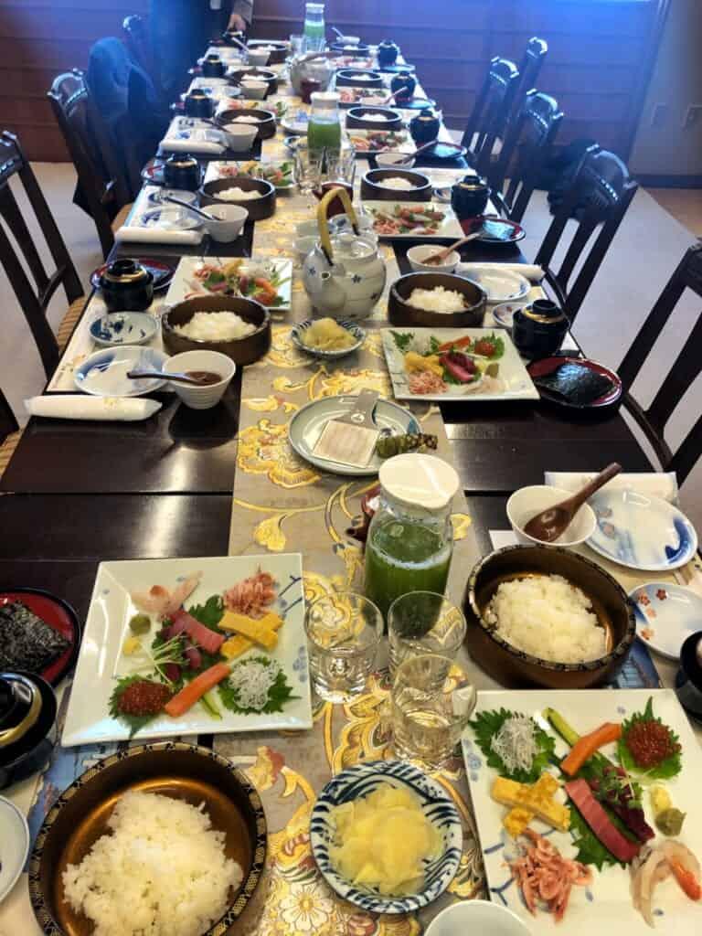 A Temaki Sushi Feast