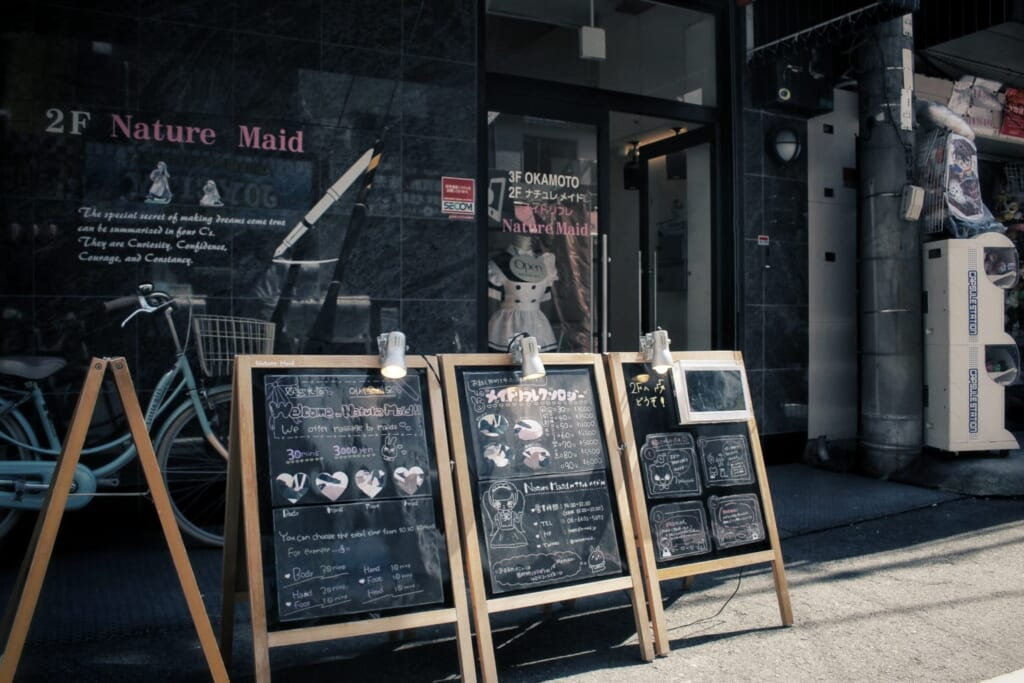 Maid Cafe in Osaka