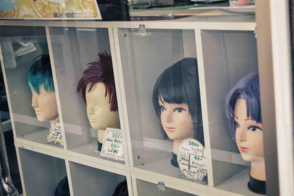 Manga figurines