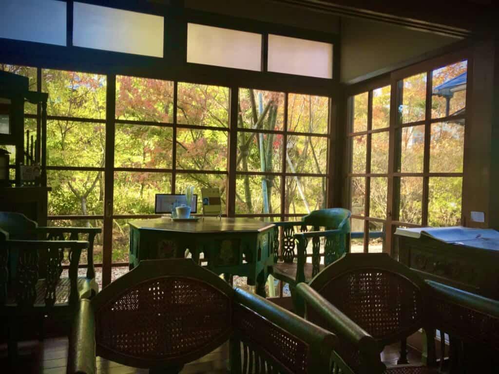 Retro Japanese cafe