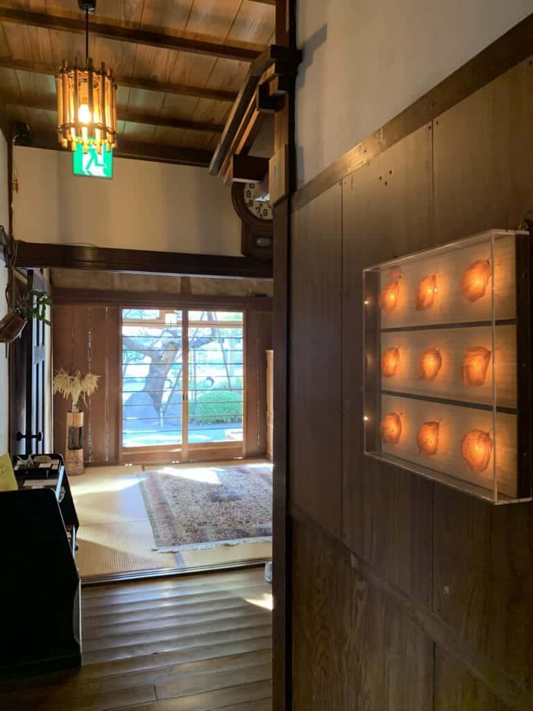 Inside a Showa-era ryokan