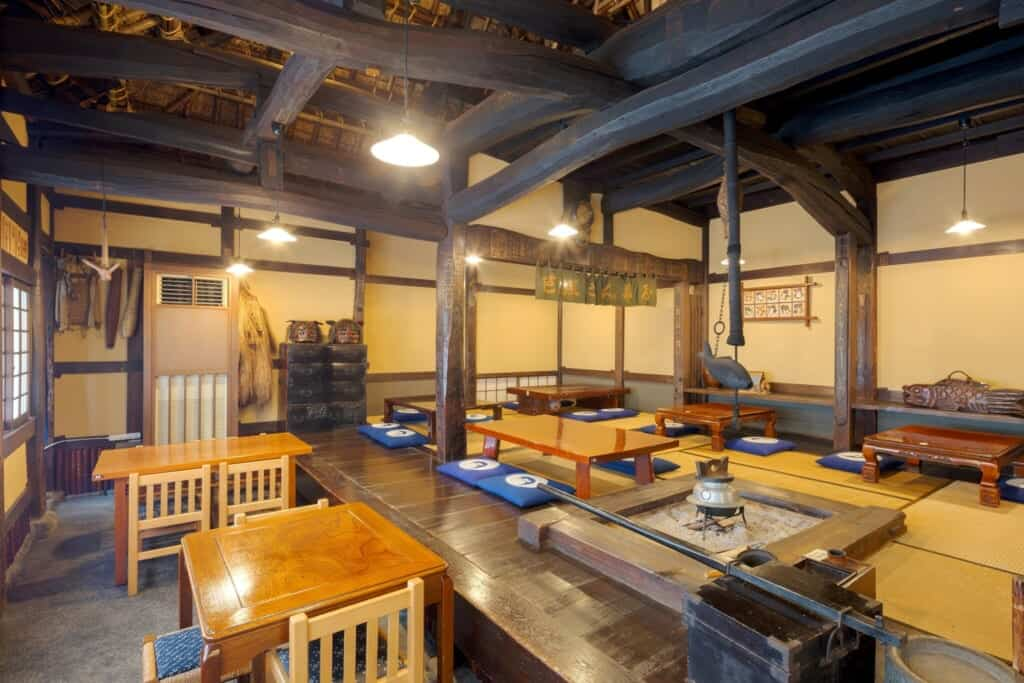 Another dining room at Chojiya
