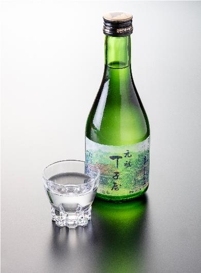 Chojiya sake made with water from Mt Fuji