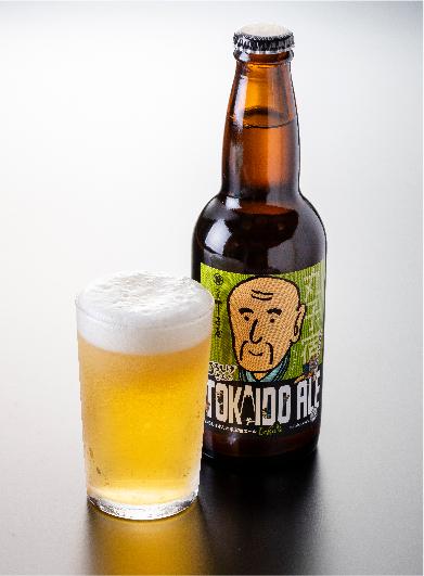 Chojiya beer made with Shizuoka green tea