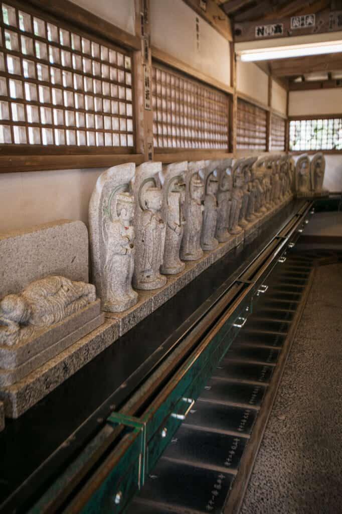 88 stone statues