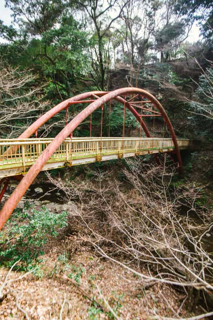 bridge in mino park