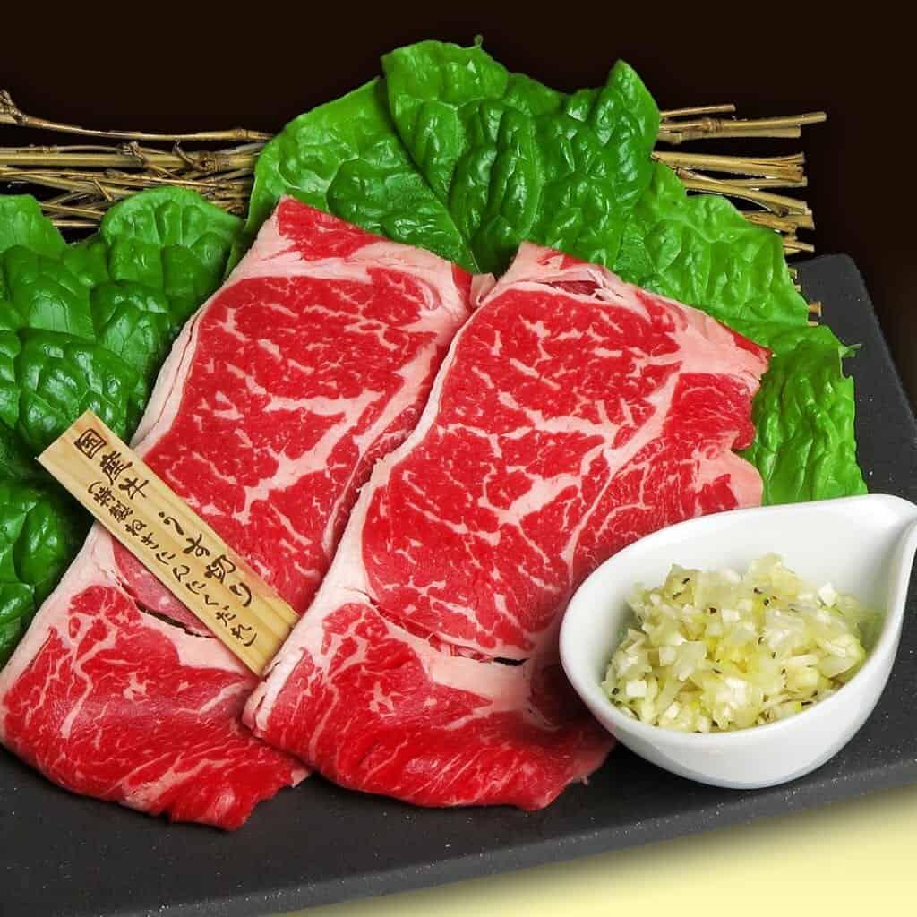 Yakiniku meat