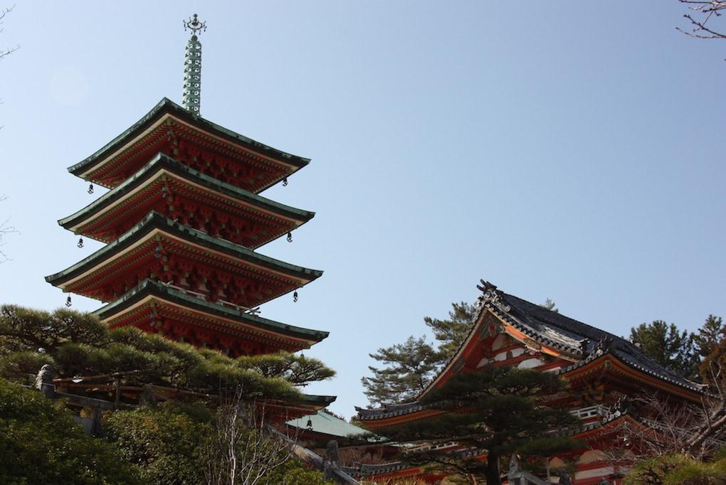 Kosanji Temple on Ikuchijima island, Setouchi